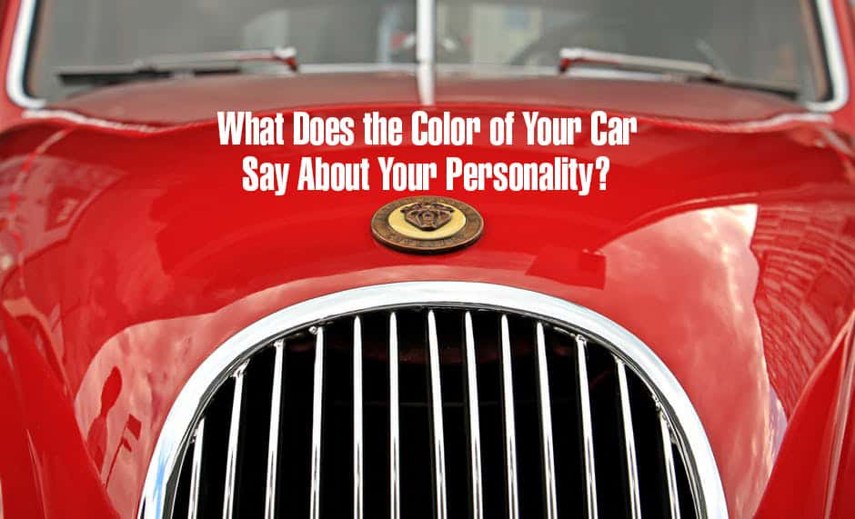 What Does the Color of Your Car Say About Your Personality?