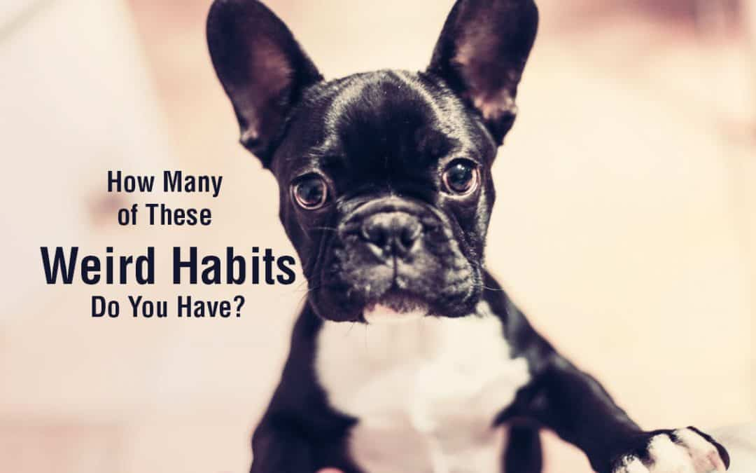 How Many of These Weird Habits Do You Have?