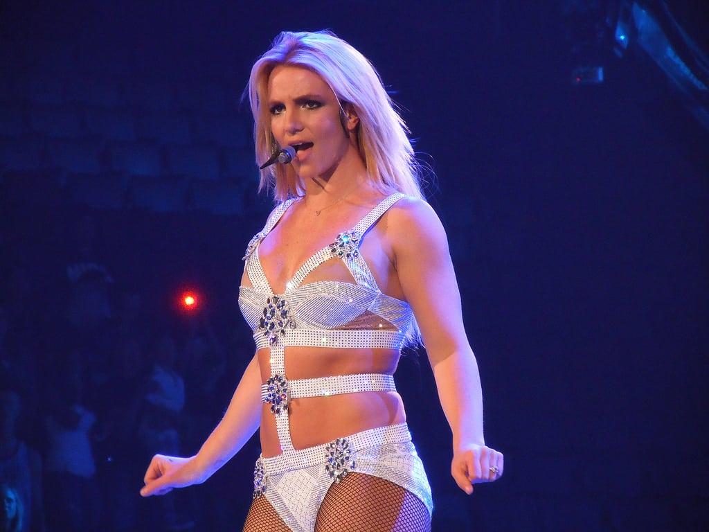 Britney Spears in Femme Fatale Tour - Photo Credit: knkkk