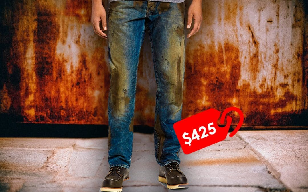 Would You Buy $425 Jeans That Come Streaked With Fake Mud? How About Jeans That Are Totally See-Through?