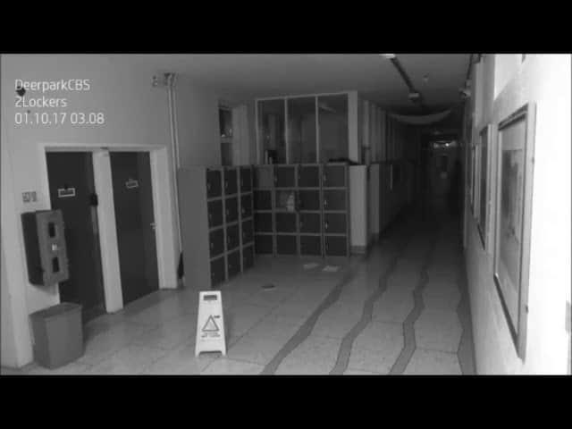 El Cucuy? Did Security Cam Film a Ghost Creating Havoc at a High School?