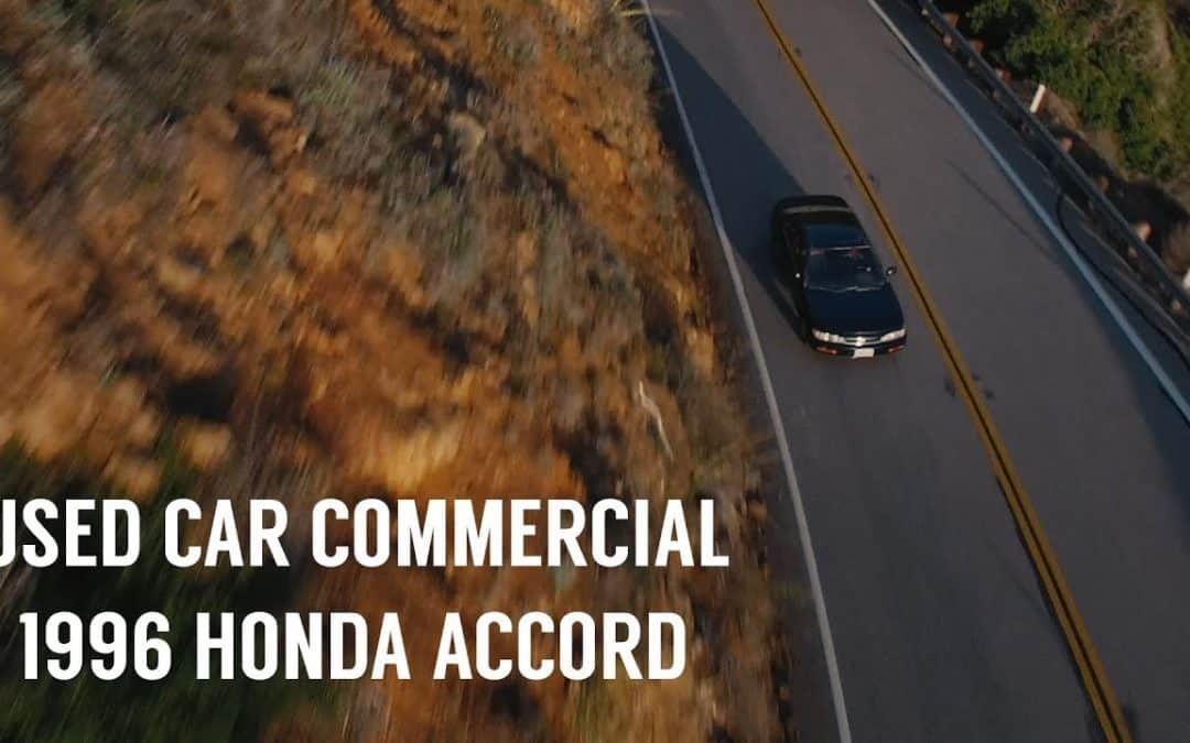A Guy Made an Awesome Fake Commercial to Sell His Girlfriend's 1996 Honda