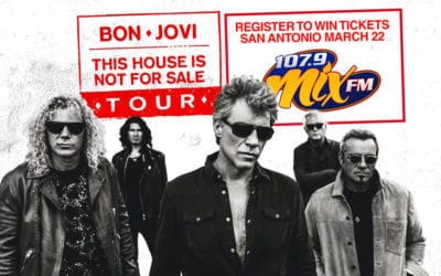 Nows your chance to score some tickets to see Bon Jovi!