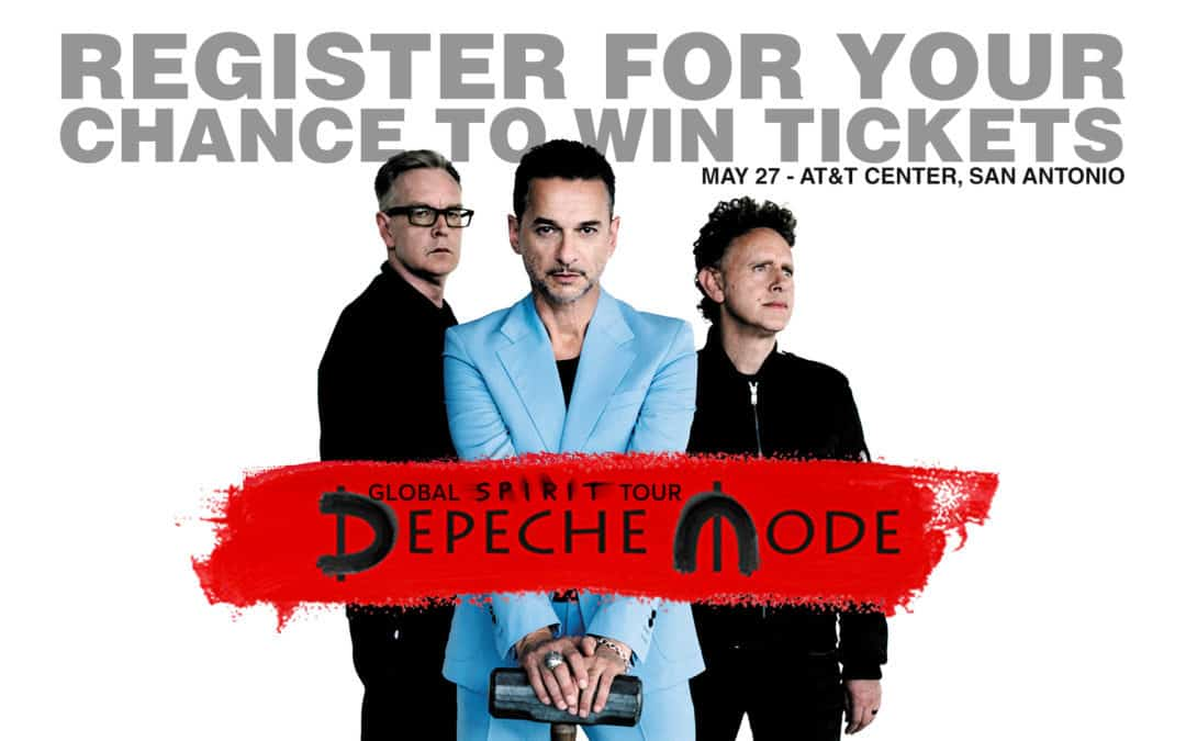 Win Tickets to See Depeche Mode Live in San Antonio