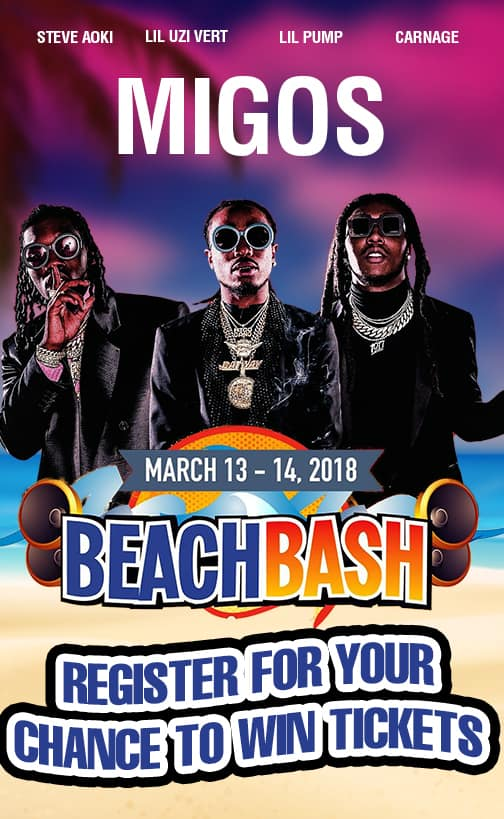 Win Tickets to see the Beach Bash on SPI