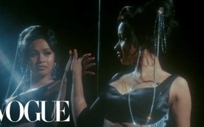 Cardi B Channels Carly Simon in New 'Vogue' video