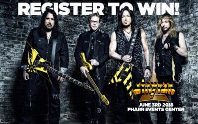 Register for your chance to win tickets to see Stryper!