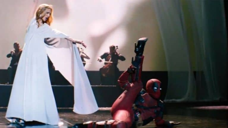 Celine Dion Mistakes Deadpool for Spider-man in Absurdly Beautiful 'Ashes' (Video)