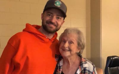 Justin Timberlake Surprises 88-Year-Old Fan