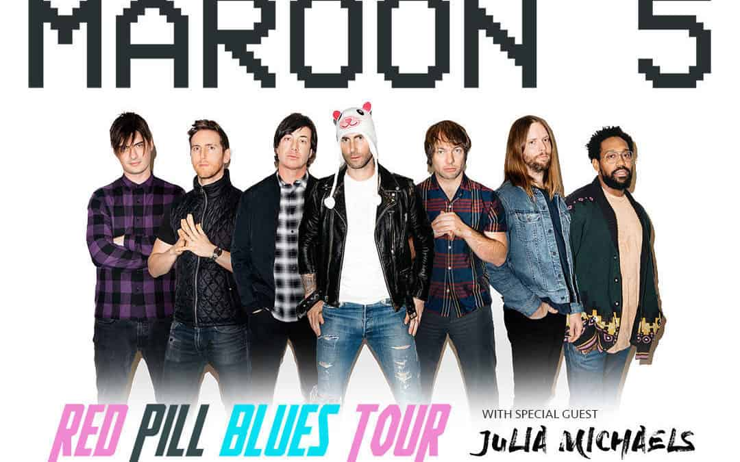 Win tickets to see Maroon 5!