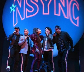 Justin Timberlake Congratulated the Rest of N' Sync for Their Coachella Performance with Ariana Grande 2