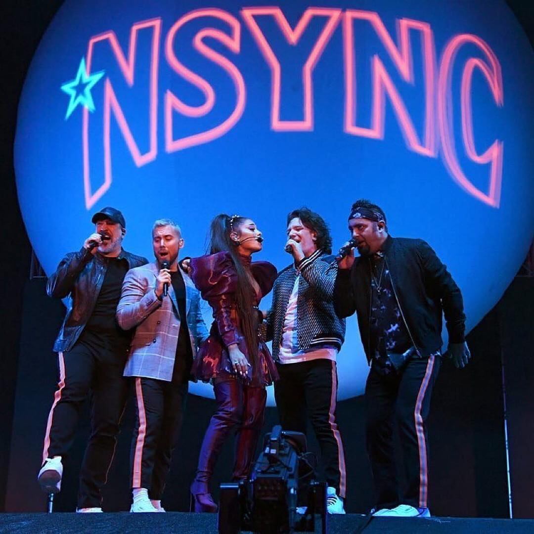 Justin Timberlake Congratulated the Rest of N' Sync for Their Coachella Performance with Ariana Grande