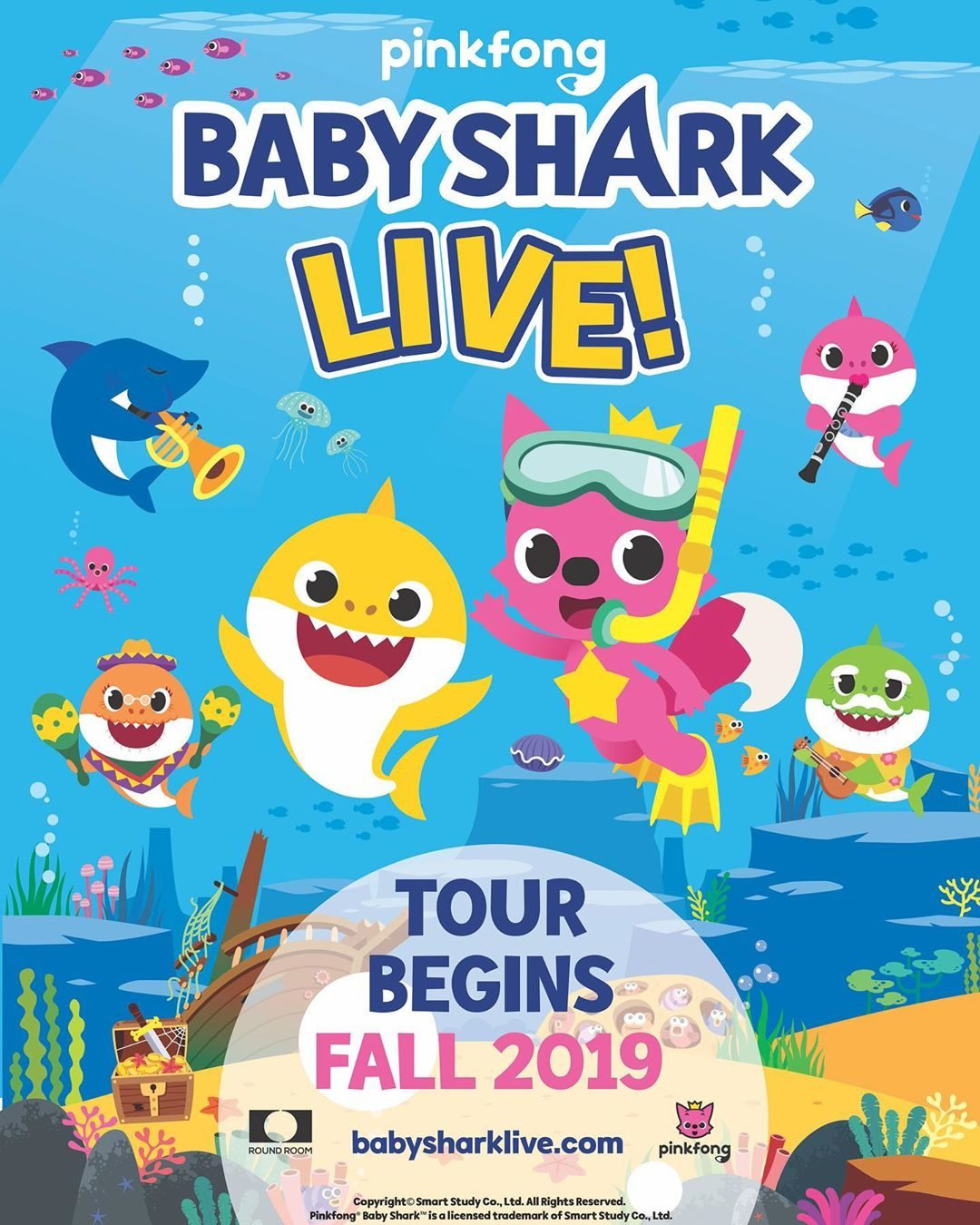 """Baby Shark"" Is Hitting the Road with 100-Date Live Show"