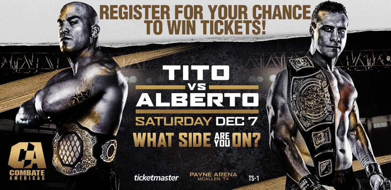 Register for your chance to win tickets to see Combate Americas