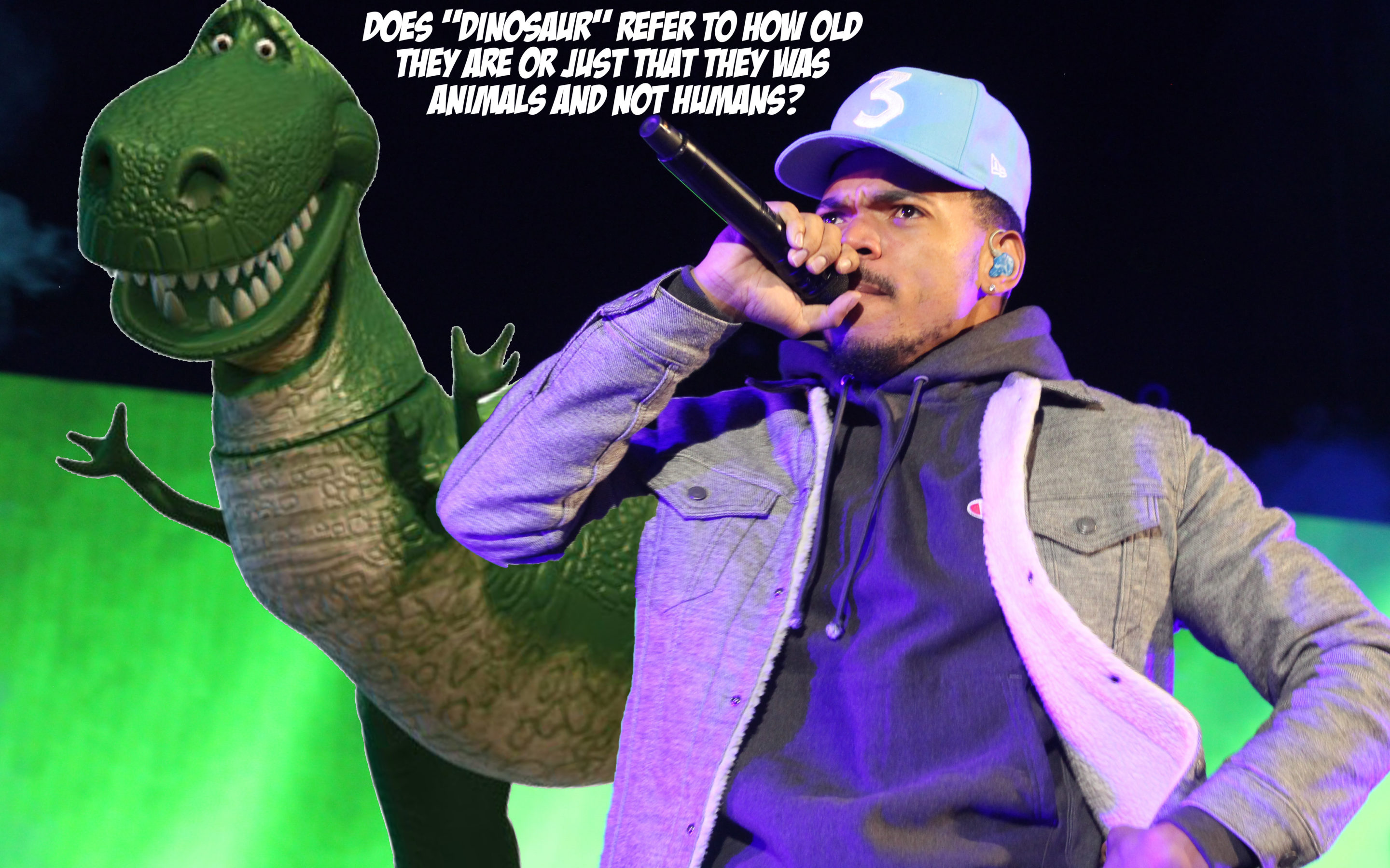 *Facepalm… Chance the Rapper Wants to Know If Dinosaurs Are Called 'Dinosaurs' Just Because They're Old