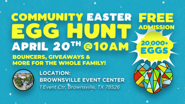 Join us on April 20th, as we celebrate Easter with a Community Egg Hunt!