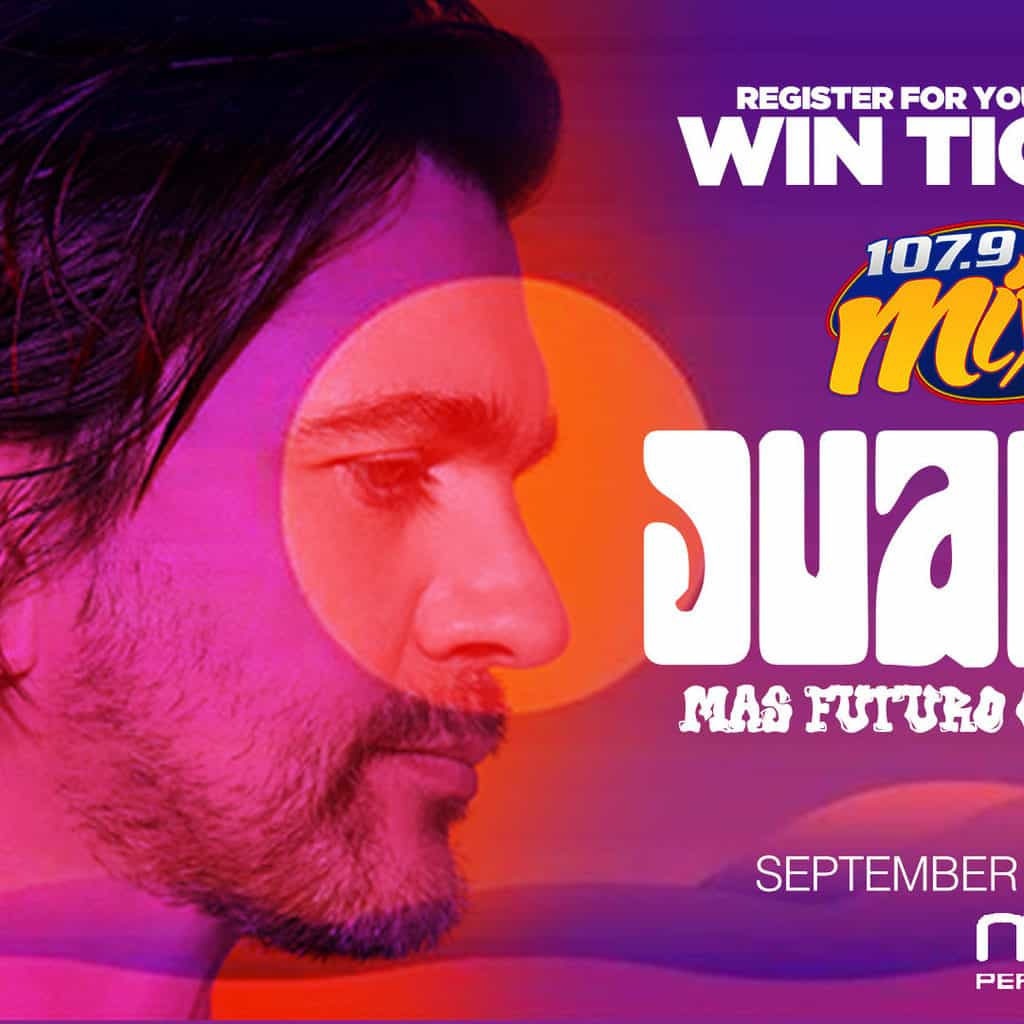 Register for your chance to win a Pair of Tickets to See Juanes!