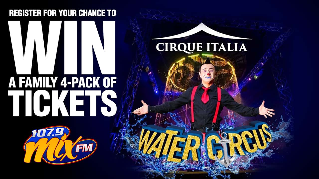 You could win a 4 pack of tickets to Sensational Cirque Italia