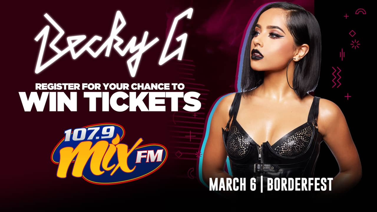 Exciting Chance for your to win tickets to See Becky G! 2