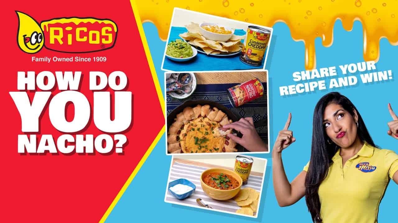 Win with your Inspiring Ricos Fiesta Recipe!