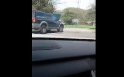 Caught on Video: A Driver Chases the Car That Hit Him, Until It Crashes