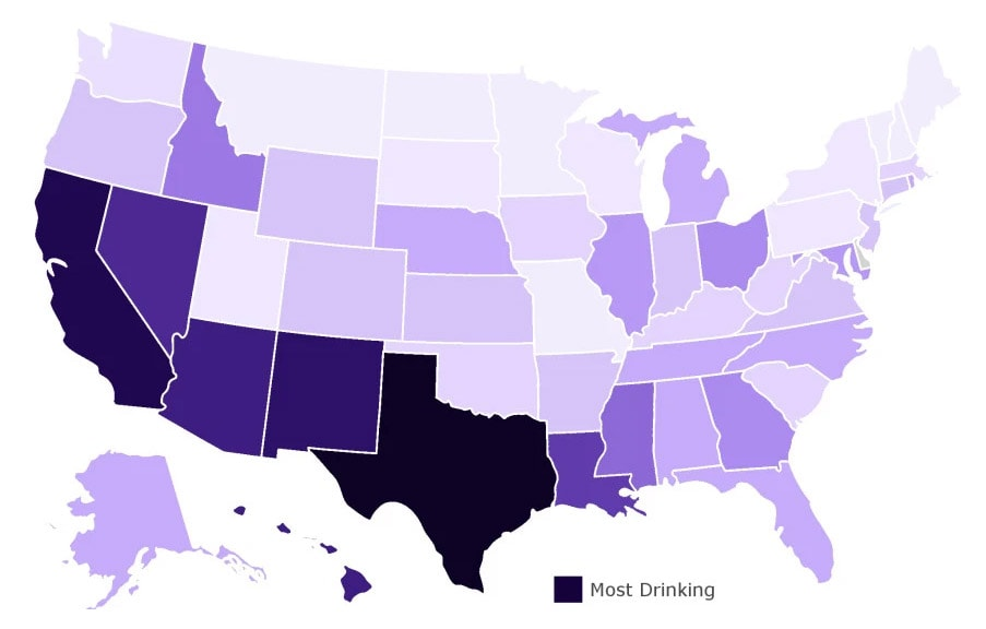 Which States Have Been Drinking the Most While We're in Quarantine?