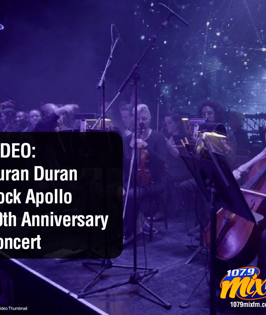 VIDEO: Duran Duran Rock Apollo 50th Anniversary Concert
