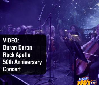 VIDEO: Duran Duran Rock Apollo 50th Anniversary Concert 3