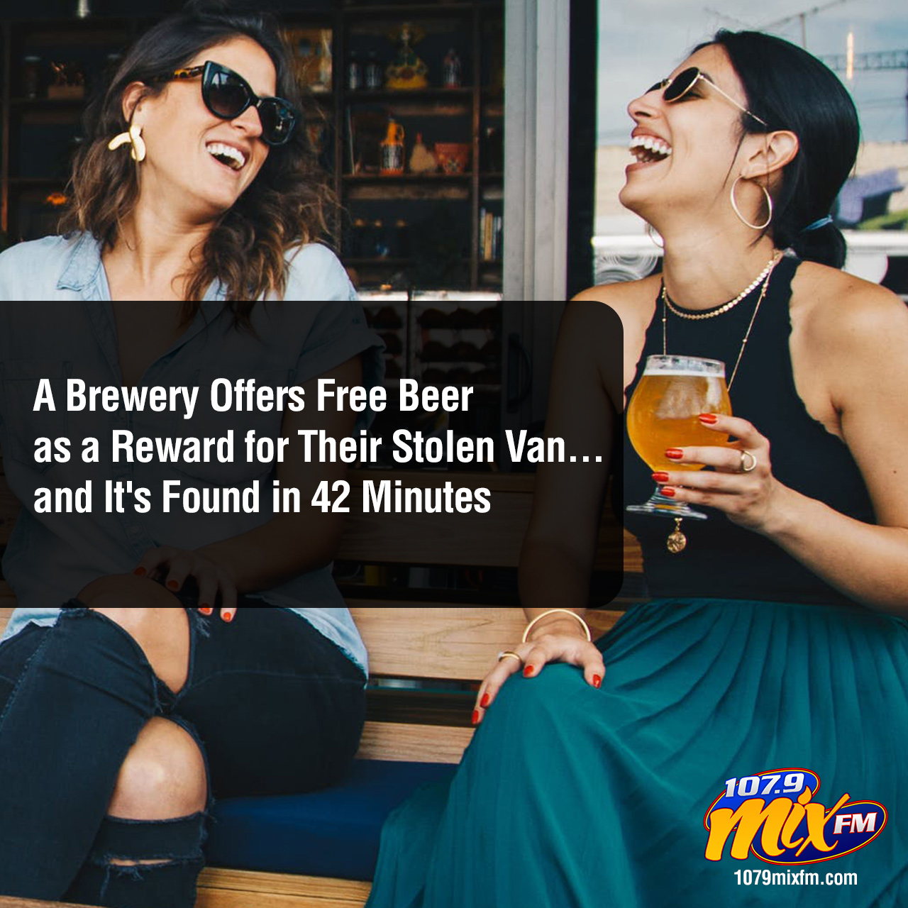 A Brewery Offers Free Beer as a Reward for Their Stolen Van . . . and It's Found in 42 Minutes