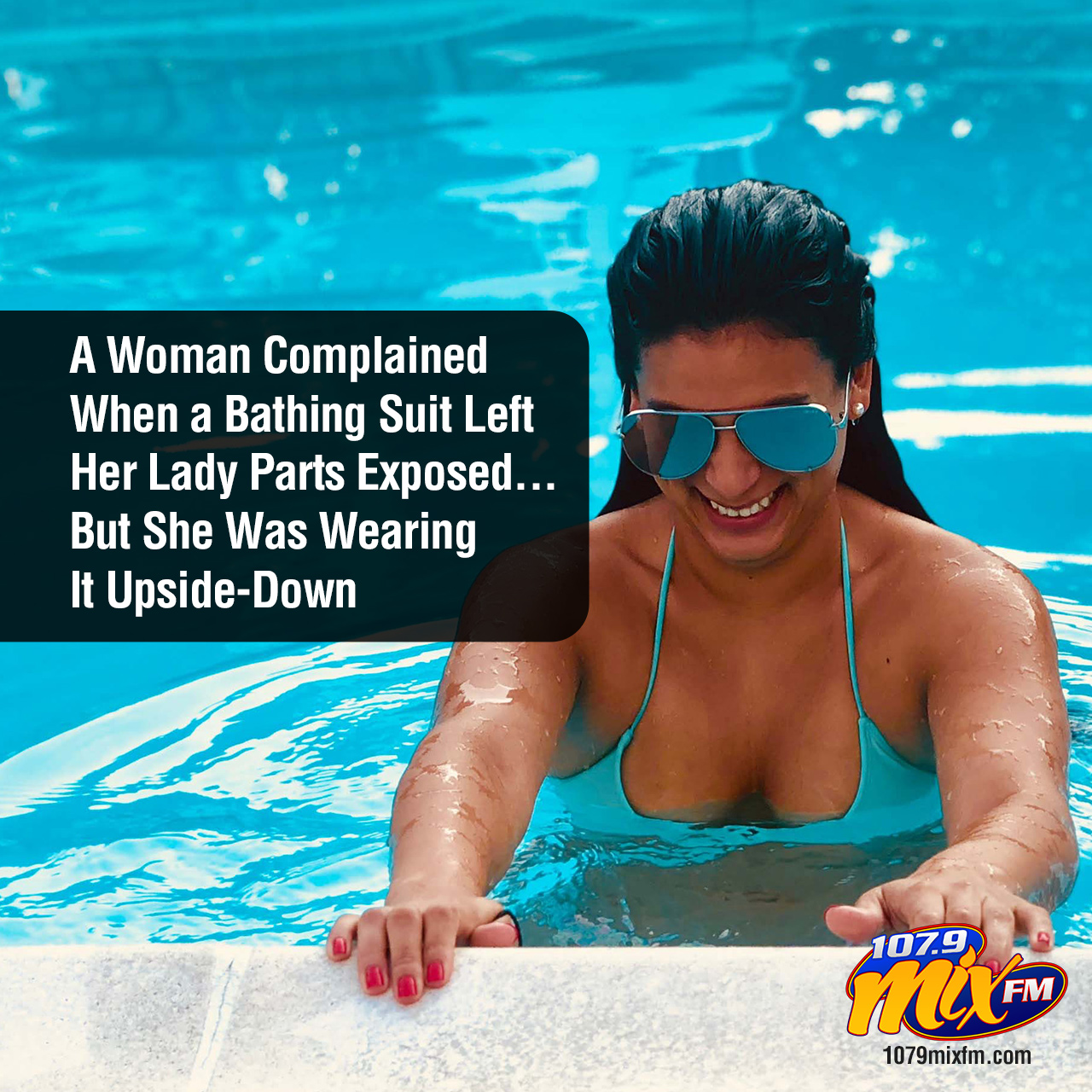 A Woman Complained When a Bathing Suit Left Her Lady Parts Exposed . . . But She Was Wearing It Upside-Down