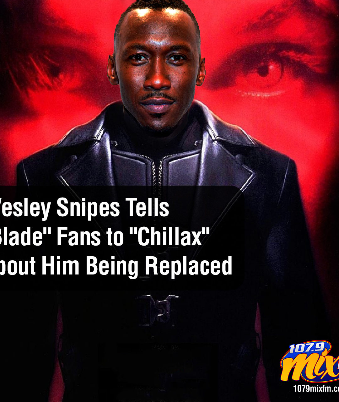 "Wesley Snipes Tells ""Blade"" Fans to ""Chillax"" About Him Being Replaced"