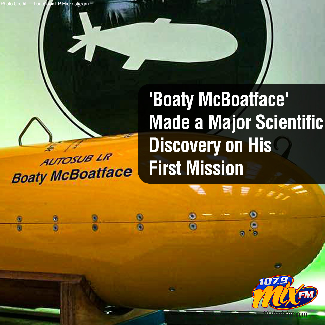 'Boaty McBoatface' Made a Major Scientific Discovery on His First Mission