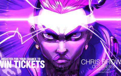 Register for your chance to win tickets to see Chris Brown