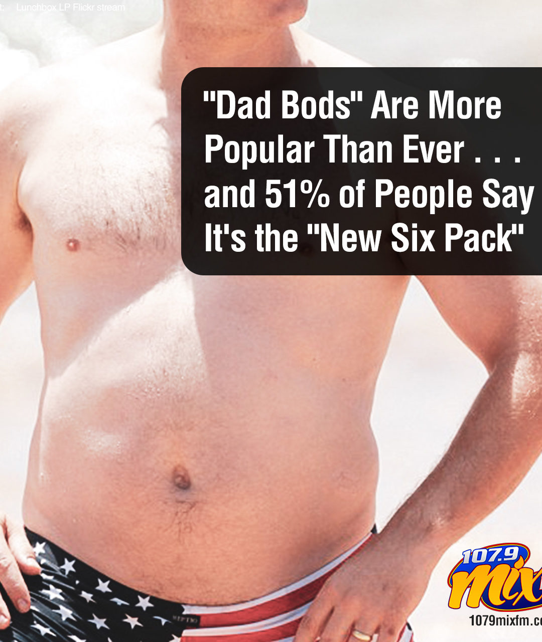 """""""Dad Bods"""" Are More Popular Than Ever . . . and 51% of People Say It's the """"New Six Pack"""""""