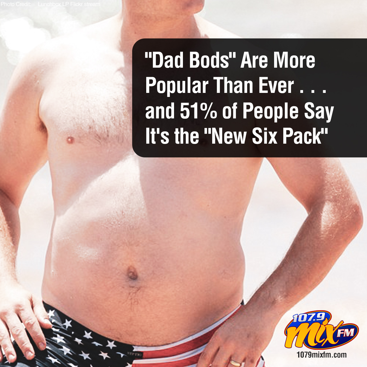 """Dad Bods"" Are More Popular Than Ever . . . and 51% of People Say It's the ""New Six Pack"""