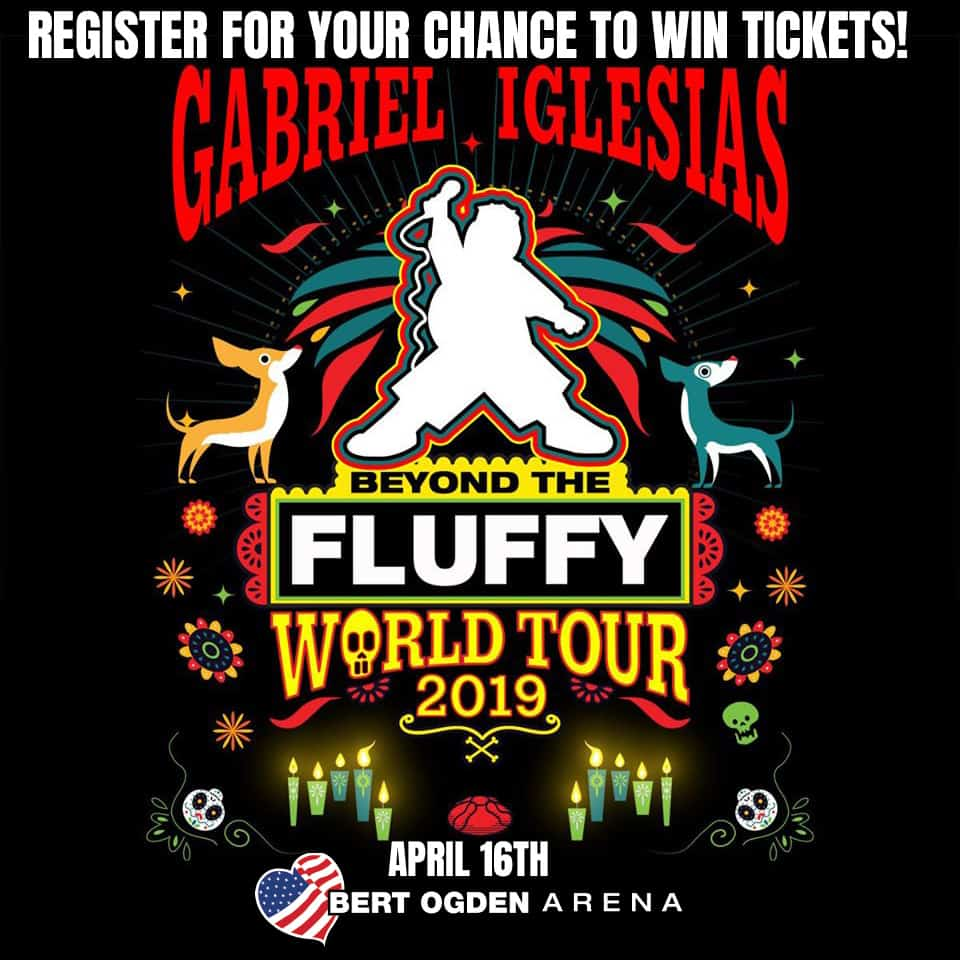 Register for your chance to win Tickets to see Gabriel Iglesias - Beyond the Fluffly World Tour! 3