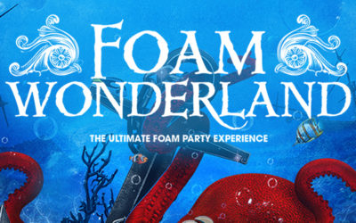 Register to Win tickets to attend the Foam Wonderland Party Experience at Claytons SPI