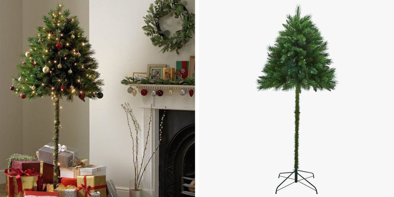 """""""Half"""" Christmas Trees Could Solve the Problem of Pets and Toddlers Versus Normal Trees"""