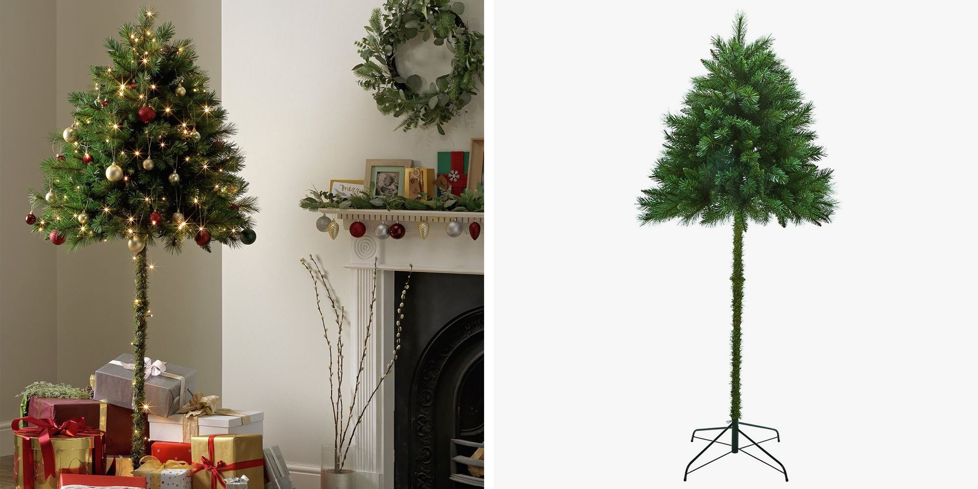 "Half"" Christmas Trees Could Solve the Problem of Pets and Toddlers ..."