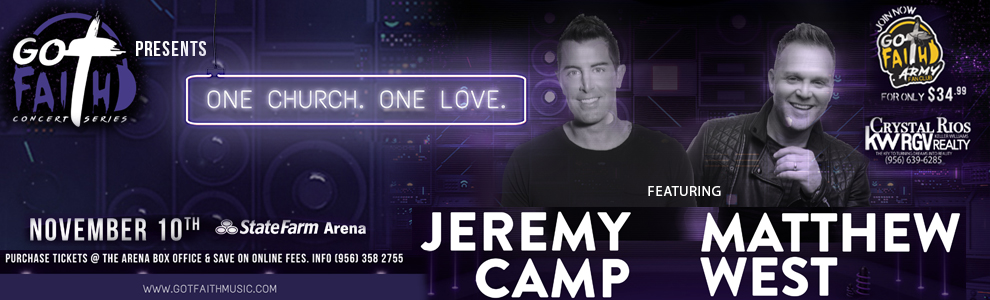 Expired: Register to Win Tickets to see Jeremy Camp