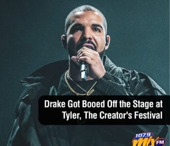Drake Got Booed Off the Stage at Tyler, The Creator's Festival 1