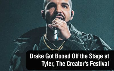 Drake Got Booed Off the Stage at Tyler, The Creator's Festival