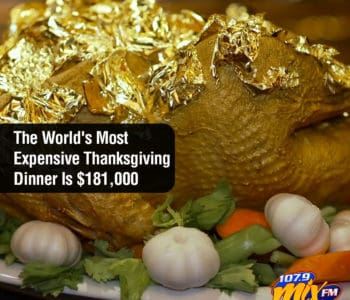 The World's Most Expensive Thanksgiving Dinner Is $181,000 2