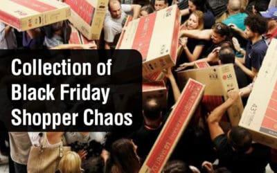 A Collection of Black Friday Shopper Chaos