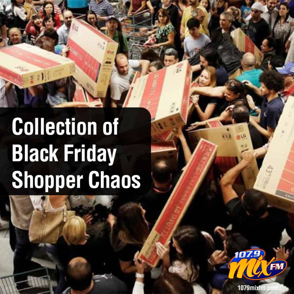 A Collection of Black Friday Shopper Chaos