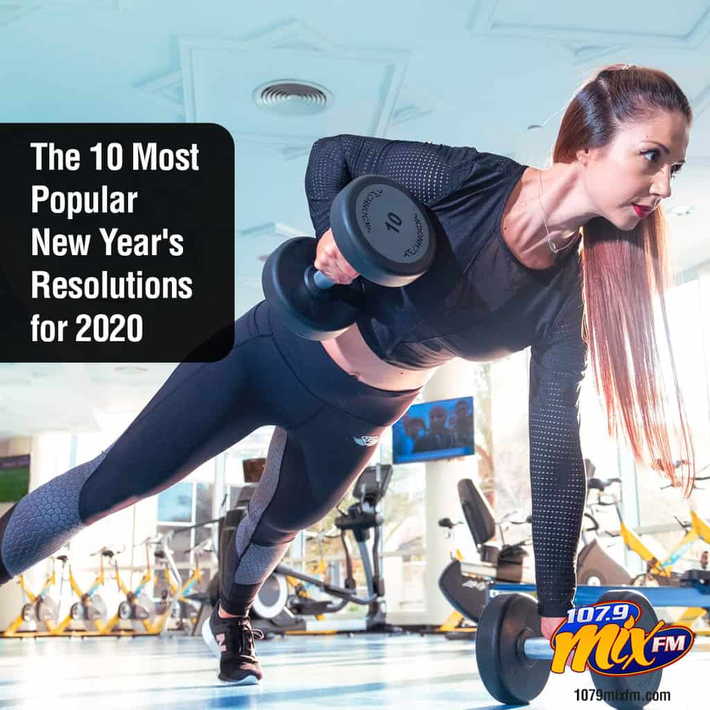 The 10 Most Popular New Year's Resolutions for 2020