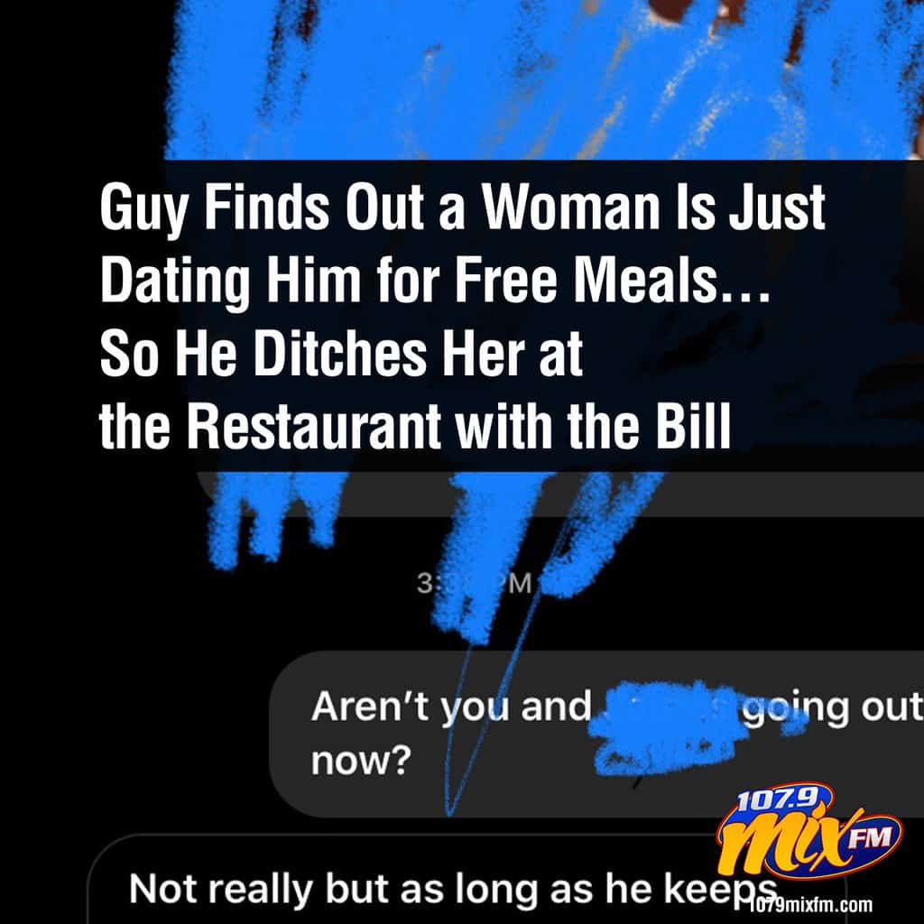 Guy Finds Out a Woman Is Just Dating Him for Free Meals... So He Ditches Her at the Restaurant with the Bill 1