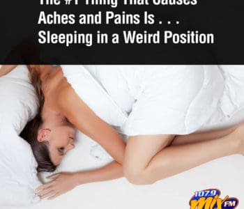 The #1 Thing That Causes Aches and Pains Is . . . Sleeping in a Weird Position 2