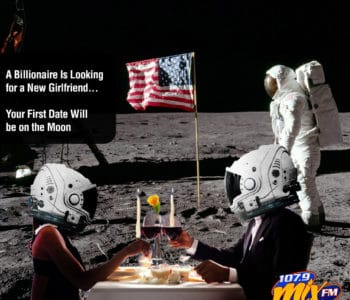 A Billionaire Is Looking for a New Girlfriend . . . Your First Date Will be on the Moon 2
