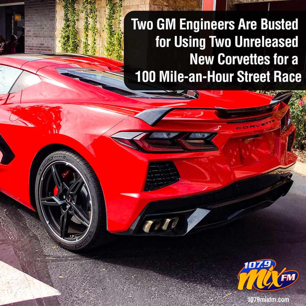 Two GM Engineers Are Busted for Using Two Unreleased New Corvettes for a 100 Mile-an-Hour Street Race 1
